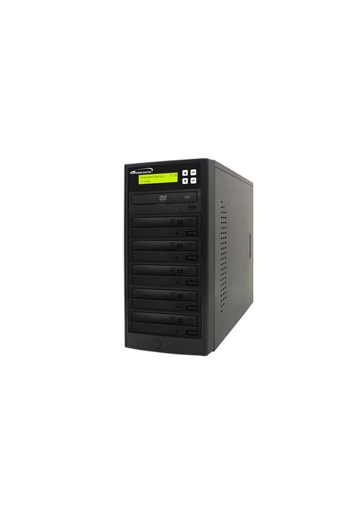 Torre di duplicazione 1:07 DVD/CD Black - HDD 500gb