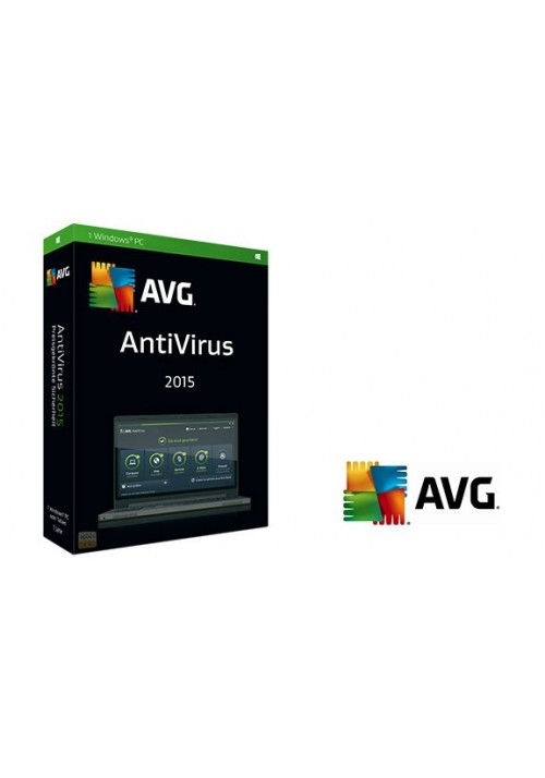 AVG Antivirus 2015 3pc 12mesi